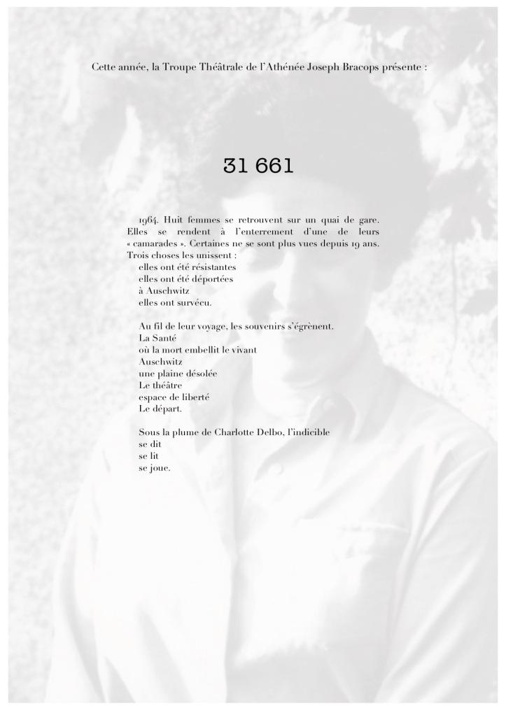 31 661 - Quand la poésie éclôt à Auschwitz